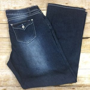 Brand New Angels Bootcut Jeans - 18w - CHOCOL